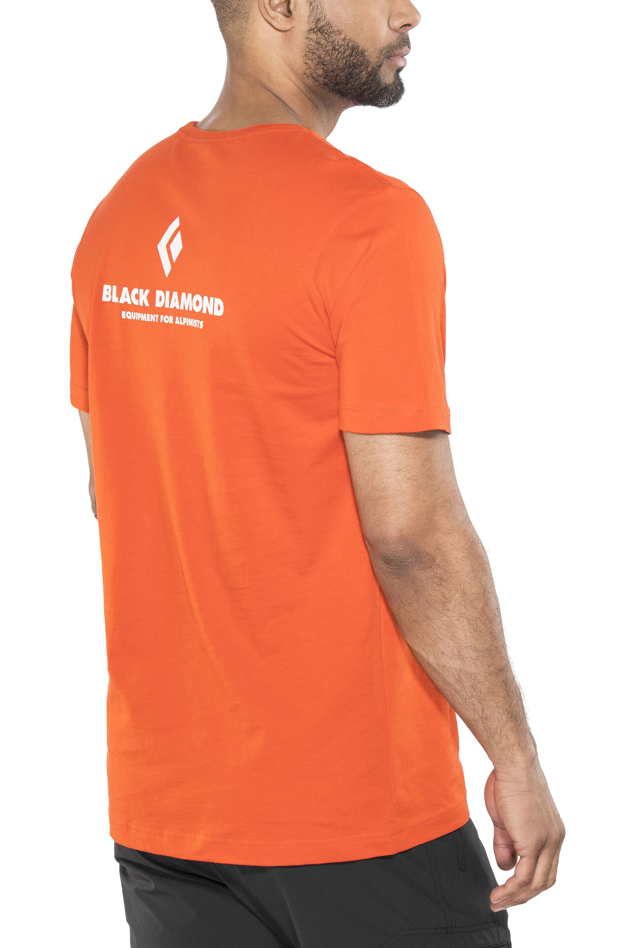 Manga Alpinist Corta Camiseta For Black Equipment Hombre Diamond OvtnRxqXTw 7d91485afbf